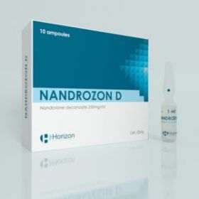Нандролон деканоат Horizon Nandrozon D 10 ампул (250мг/1мл)