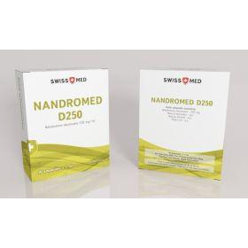 Нандролон деканоат Swiss Med Nandromed D250 10 ампул (250мг/1мл)