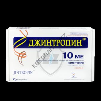 Гормон роста Jintropin GeneScience 10 флаконов / 10IU (370 мкг/IU) - Байконур